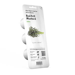 Red Frill Mustard Kapsel