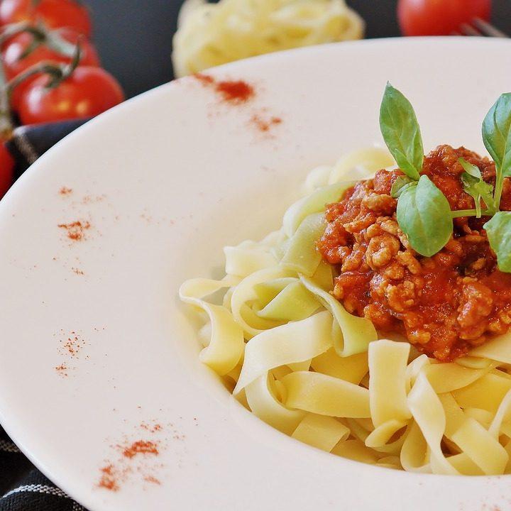 Spaghetti Basilikum