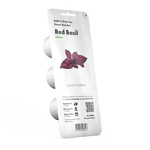 Roter Basilikum Substratkapsel