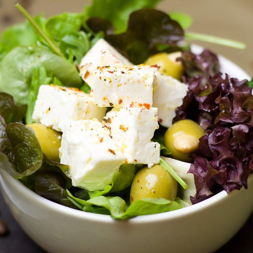 Kopfsalat mit Feta